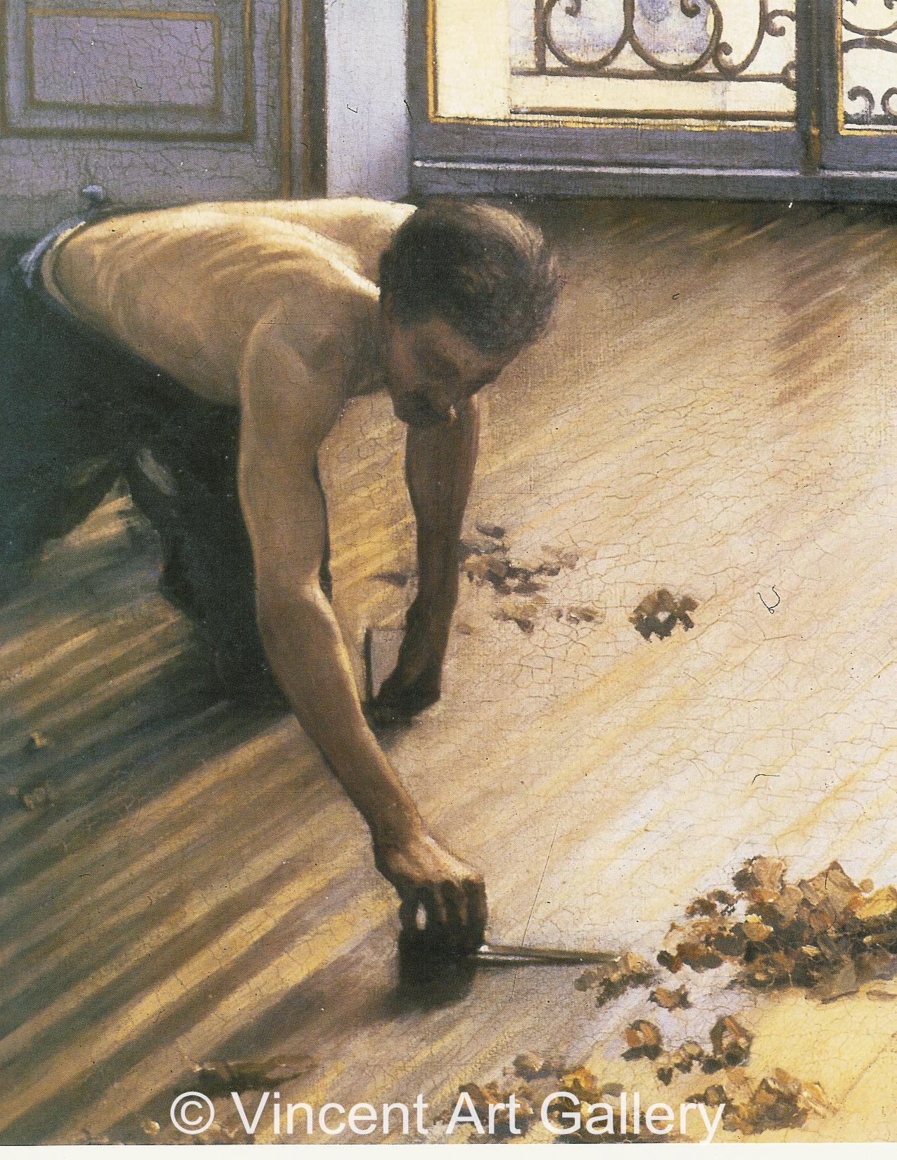 The Floor Scrapers By Gustave Caillebotte Oil Painting