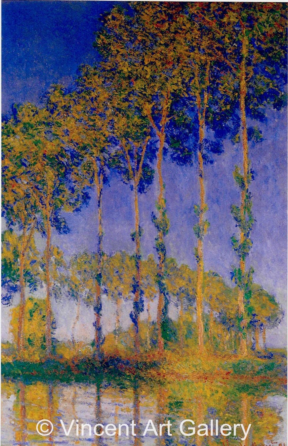 J Constable A Row of Poplars by Cl...
