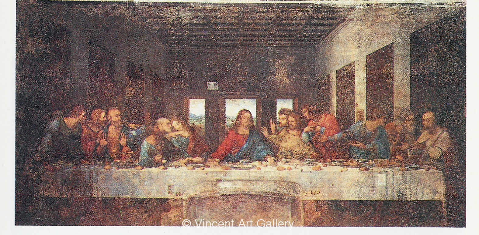 Last Supper by Leonardo da Vinci - Oil Painting Reproduction
