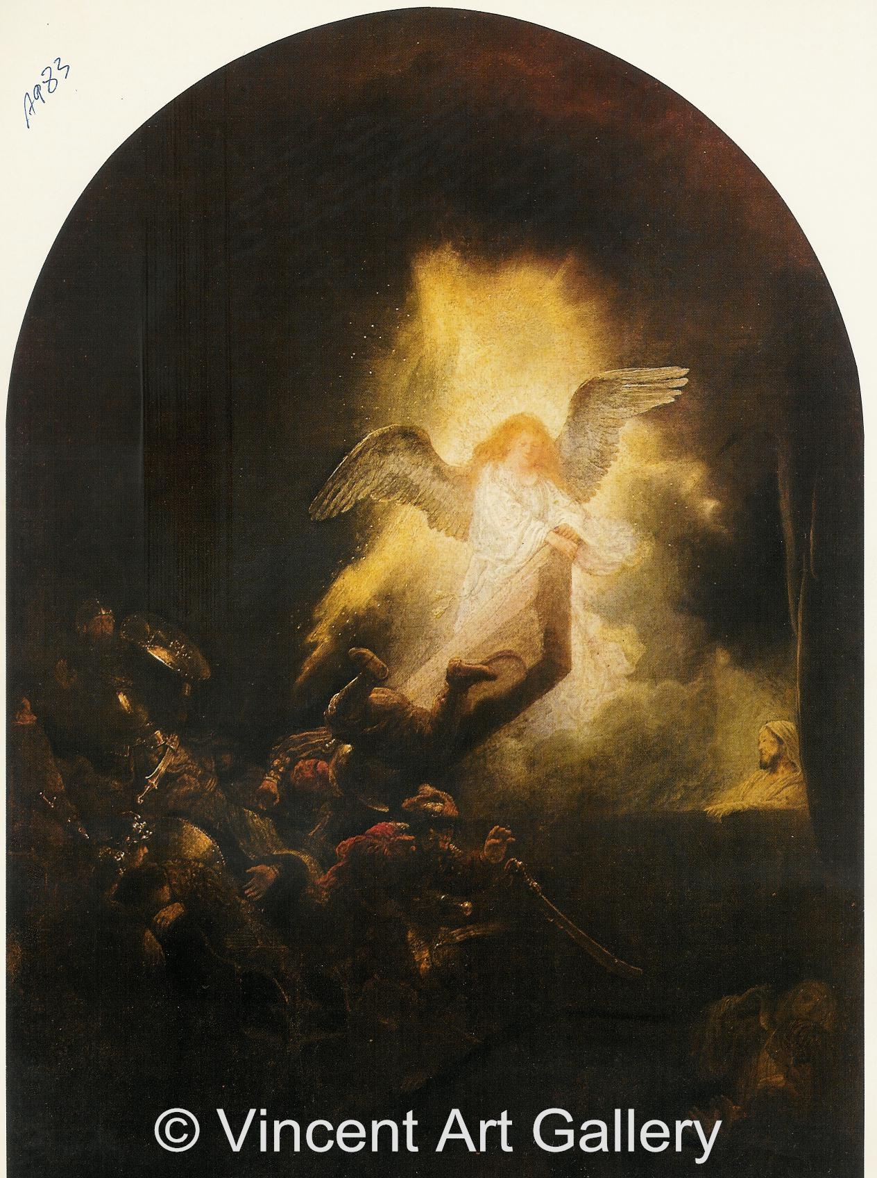 A983, REMBRANDT, The Assention of Jesus Christ