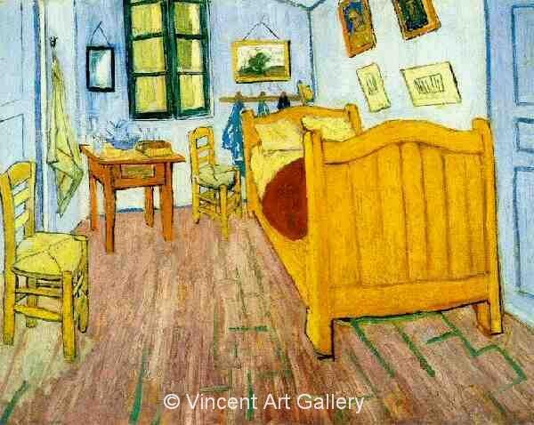 vincent 39 s bedroom in arles by vincent van gogh oil