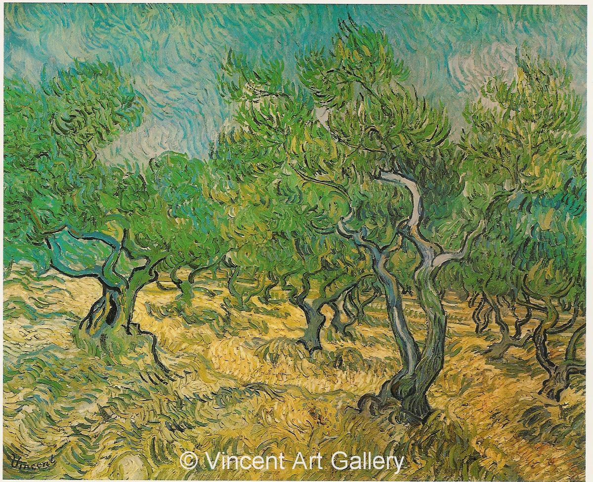 vincent van gogh oil painting reproductions saint remy may