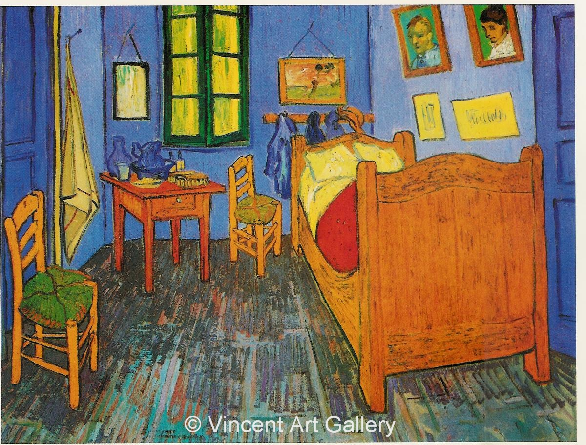 vincent 39 s bedroom in arles by vincent van gogh oil painting