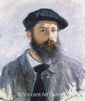 Monet Self Portrait