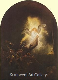The Ascension of Jesus Christ by Rembrandt van Rijn